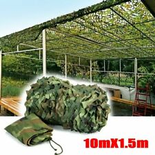 Camouflage Net Camo Hunting Shooting Hide Army Camping Woodland Netting 5m X1.5m