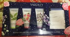 Yardley- Hand Cream Collection with Moisturising Gloves