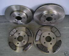 JAGUAR X-TYPE FRONT AND REAR BRAKE DISCS AND PADS 2001 - 2004