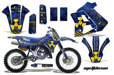 YAMAHA WR 250Z Graphic Kit AMR Racing # Plates Decal Sticker Part 91-93 MDBY