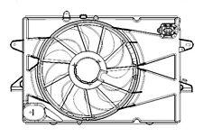 2012 2013 Chevrolet Equinox Radiator/Condenser Cooling Fan, Shroud & Motor 2.4L