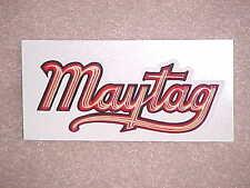 Maytag Wringer Washer Script Decal SKID Gas Engine Multi Motor