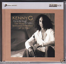 """Kenny G - I'm In The Mood For Love"" Japan Sony Limited Numbered K2HD CD New"