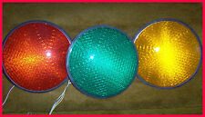 """12"""" LED TRAFFIC LIGHT INSERT, TESTED & GUARANTED- RED, YELLOW, GREEN, OR  ARROWS"""
