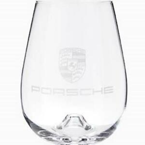 Porsche Driver's Selection Stemless Wine Glass Set of 4