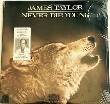 JAMES TAYLOR ~ NEVER DIE YOUNG ~ 1988 ORIGINAL FACTORY SEALED NEW RECORD ALBUM