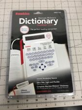 Franklin Mwd-520 Merriam Webster'S Dictionary Pagemark Edition New