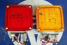 KENWORTH W900 118LED TURN SIGNALS DOUBLE STUD K256-554 K256-554R HD50118RYL2/R2