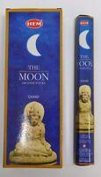 Hem The Moon Incense Bulk 6 x 20 Stick Box 120 Sticks Wicca Pagan
