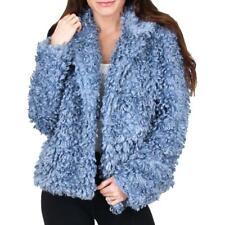 Tahari Pepper Curly Women's Faux Fur Cozy Winter Teddy Coat