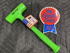 """SK TOOLS 9126 SLIM LINE DEAD BLOW HAMMER  SOFT FACE 26oz  14"""" - USA - BRAND NEW!"""
