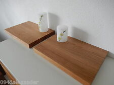 2xWandboard Eiche Massiv Holz Board Regal Steckboard Regalbrett NEU auch auf Maß