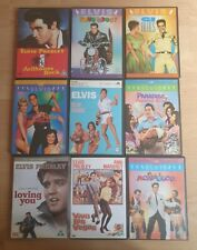 Elvis Presley Movies x9 dvd's