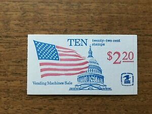 WE THE PEOPLE 2 CENT STAMP BOOKLET OF 20 SCOTT # BK 162-MNH -NEVER OPENED