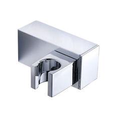 Shower Head Holder Bracket Bathroom Wall Mounted Hand Chrome Square Handset UK