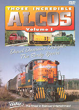 Those Incredible Alcos Vol 1 DVD NEW PENTREX HH660 Model 244 251 RSD-1 RSD-5