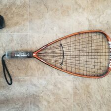EKTELON TORON ESP PRO 180 4900 power level gold racquetball racquet VG Cond.