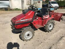 Honda mighty 11 4x4 compact tractor with PTO and rear rotivator petrol