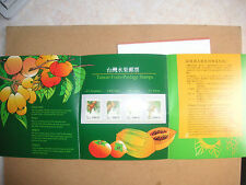 Booklet Taiwan Stamps
