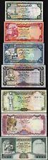 Yemen 7 Pcs SET,1 5 10 20 50 100 200 Rials 1983 1996,UNC, P-16 17 23 26 27 28 29