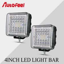 "2X 4"" Inch 688W LED Work Light Bar Square Pod UTV Truck Tractor Offroad Boat USA"