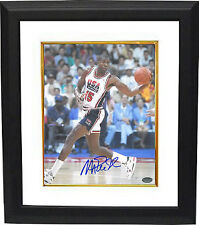 Magic Johnson signed Team USA Olympic Dream Team 16x20 Photo Framed- Schwartz