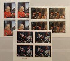 KONGO BRAZZAVILLE 1968 148-50 U ex C62-66 4x Paintings Gemälde Kunst Art MNH