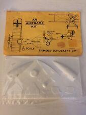 Airframe Siemens-Schuckert DIII 1/72 Scale Vacuform Model Bag Kit New & Sealed