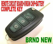 Brand new flip key remote for FORD 10+ Focus C-Max Galaxy Mondeo S-max chip Fob