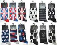 1 Pair of Mens Ladies Playboy Bunny Stripe Target Ankle Socks Shoe Size 6-11 A14