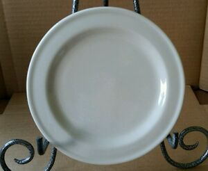 "Henn Pottery Cream bread and butter plate 7 1/2""  (#1)"
