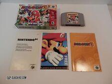 MARIO PARTY 3 (Nintendo 64 2001) Rare COMPLETE IN BOX!! N64