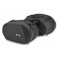 GIVI 3D600 Easylock soft saddle bags  - Pair - Black
