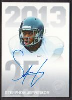 2013 Press Pass Autograph Silver #PPS-SJ Stefphon Jefferson AUTO Nevada