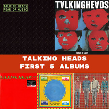 Talking Heads - First 5 Classic Albums Bundle - 5 x Vinyl LP *NEW & SEALED*