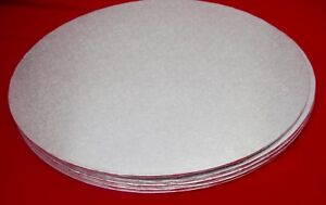 CAKE BOARDS 2MM THICKNESS VARIOUS SIZES - 6/7/8/9/10/11/12INCH - CIRCLES/SQUARES
