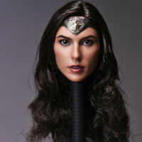 "Delicate Painting Hot 1/6 Scale Wonder Woman Gal Gadot Head Sculpt Fit 12"" Body"