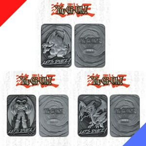 Yu-Gi-Oh! - Limited Edition Metal Card Collectible (Set of 3) - PREORDER