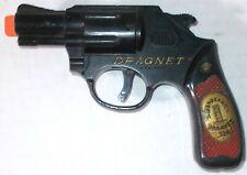 Knickerbocker DRAGNET REVOLVER Jack Webb TOY GUN FROM TIN TARGET SET RARE 1955
