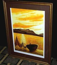 VINTAGE LIMITED EDITION PRINT (70/275) by GIUSEPPI VERSO - STONE LITHOGRAPH