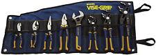 Irwin Vise-Grip 8-Piece GrooveLock Plier Set Linesmans Repair Hand Tool Set Kit