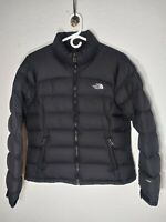 The North Face 700 Goose Down Nuptse Puffer Jacket Women's Size Large Black