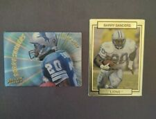 Barry Sanders Action Packed--Lot of 2-- 1991 #78 + 1994 Warp Speed WS2