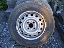 1x Stahlfelge 5Jx13CH ET49  montiert ist ein Reifen 155 R13 780M+S Steel Tubeles