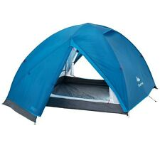 QUECHUA ARPENAZ 3+ Tent Blue 3 Person Storage Areas Hiking Camping Outdoor