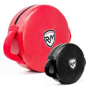 RingMaster Kick Shield Round Pads Punch Training Boxing MMA Thai Martial Arts
