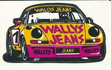 Autocollant sticker Porsche Carrera RSR 1975 Wallys jeans Siegmund Ogrodowczyk
