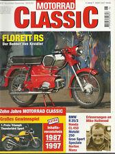 + Motorrad Classic 6/97 - Kreidler Florett RS - BMW R25/3 - Honda CL 450