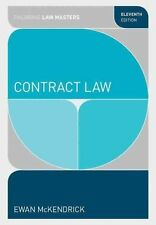 Contract Law by Ewan McKendrick (Paperback, 2015)