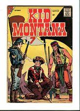 Kid Montana 14 . Charlton 1958   -  VG - minus